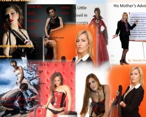 dominant women collage