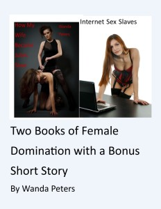Two books with bonus short story cover